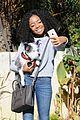 Skai-selfie skai jackson selfie game dog walk 04