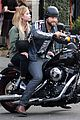 Benson-keegan ashley benson keegan allen lunch motorcycle ride 04