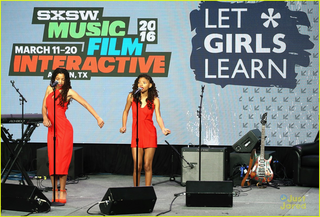 chloe halle bailey let girls learn sxsw makers event 02