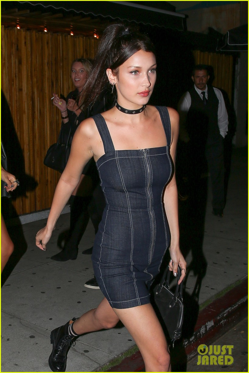 bella hadid supports bff jessie jo stark at the roxy 15