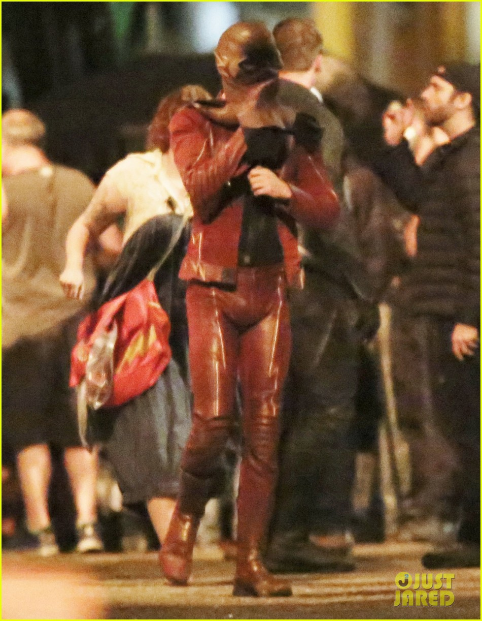 Fight Scenes Are Like Learning A Dance You Learn It Move: Grant Gustin Films Fight Scenes With Teddy Sears Before