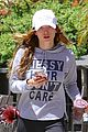 Bella-messy bella thorne messy hair shirt workout signs caa 04