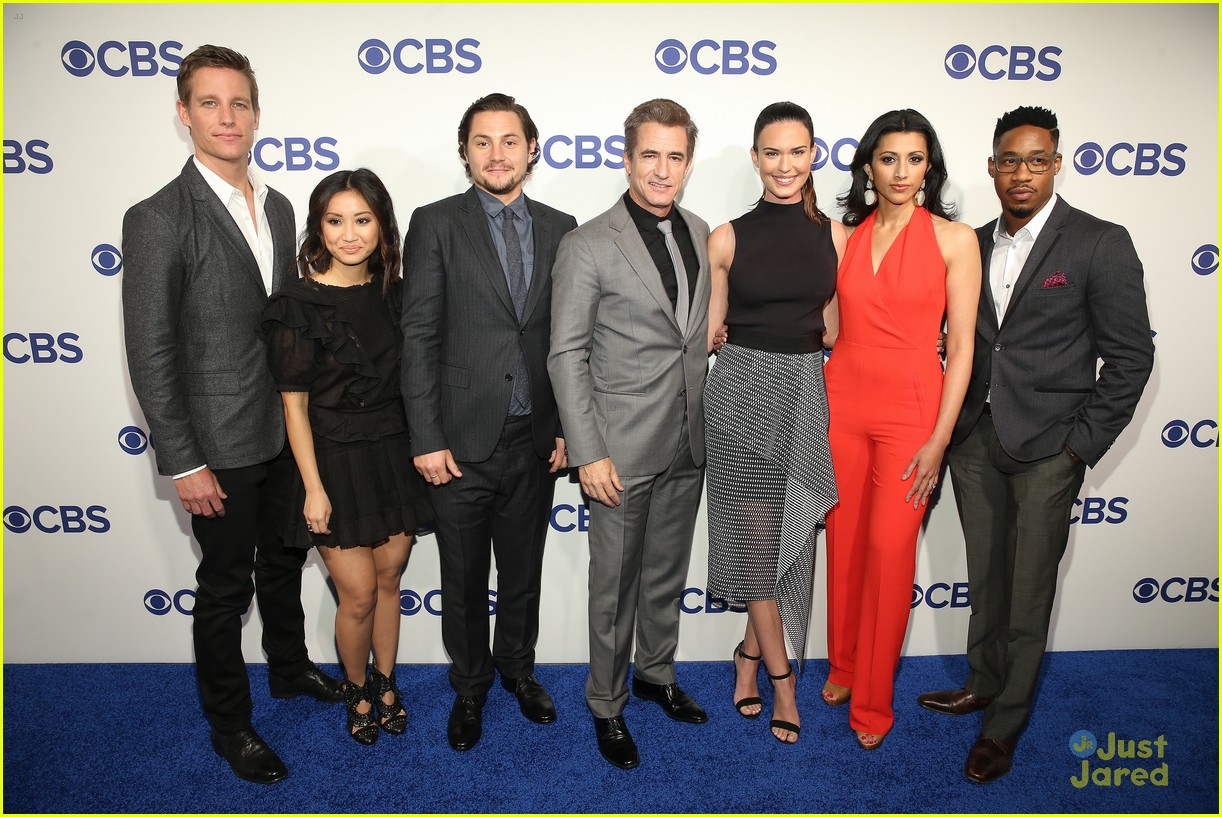 brenda song hits cbs upfronts with pure genius cast photo 972993