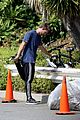Patrick-bike patrick schwarzenegger bike hike abby champion lunch 03