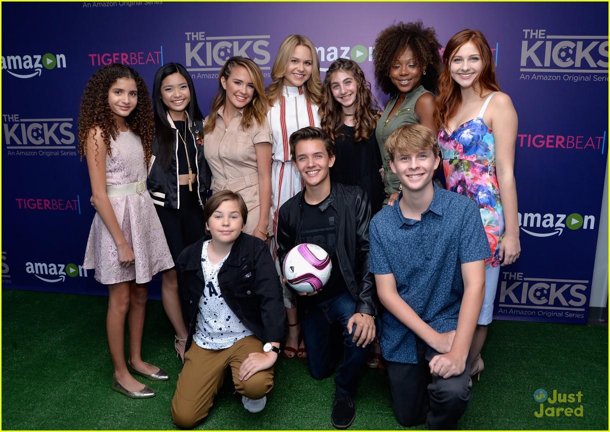 Brec Bassinger Kicks Cast Premiere Nike Event 04 Demi Lovato Music Video