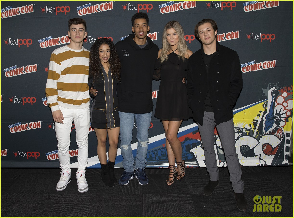 hayes grier freakish panel 2016 nycc 05