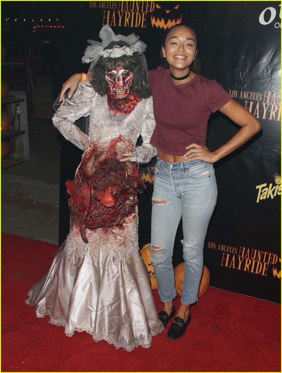 ashley tisdale jamie chung halloween party 05 - Ashley Tisdale Halloween
