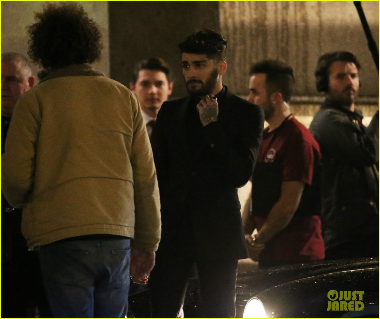 zayn malik dont wanna live video shoot 05