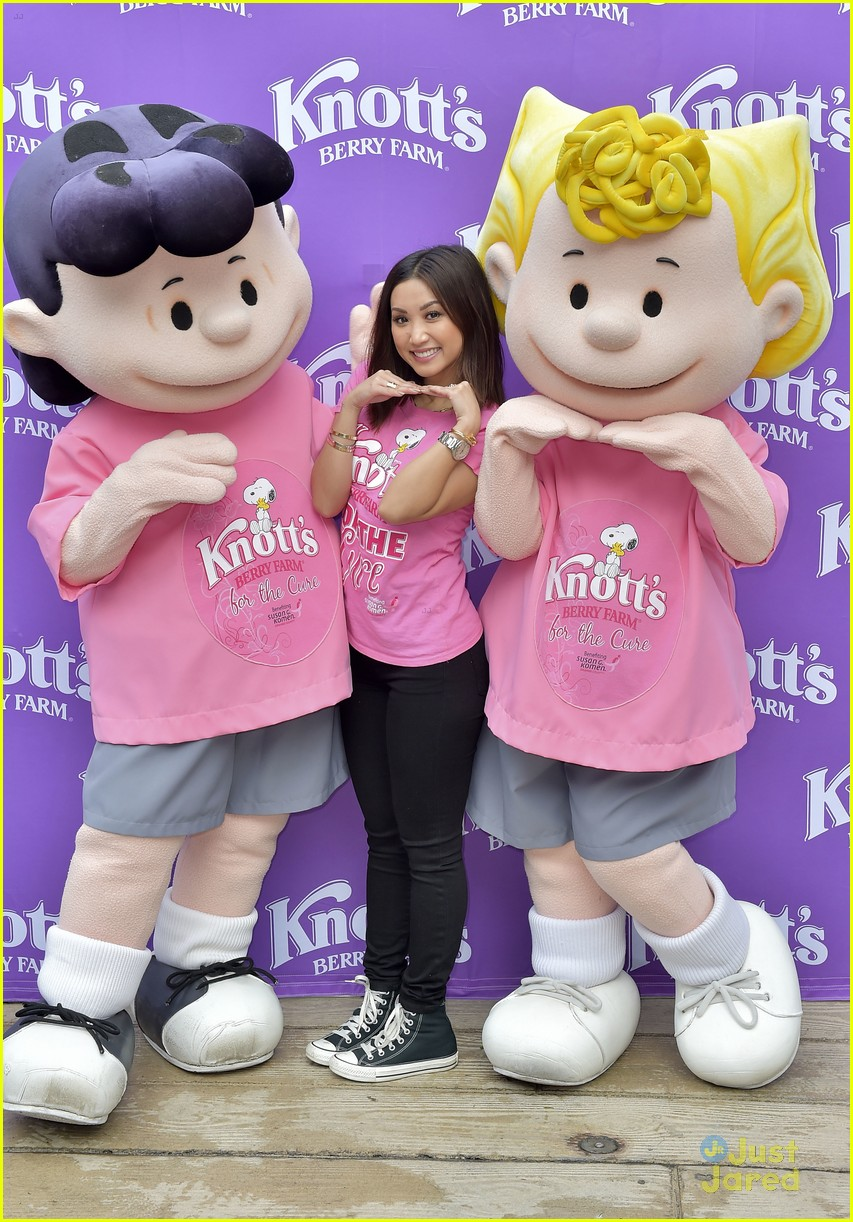 brenda song knotts for cure event 09