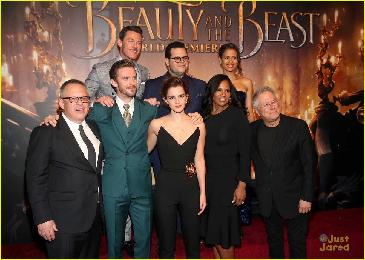 Emma Watson Gets Love From Harry Potter Co Stars For Beauty The Beast