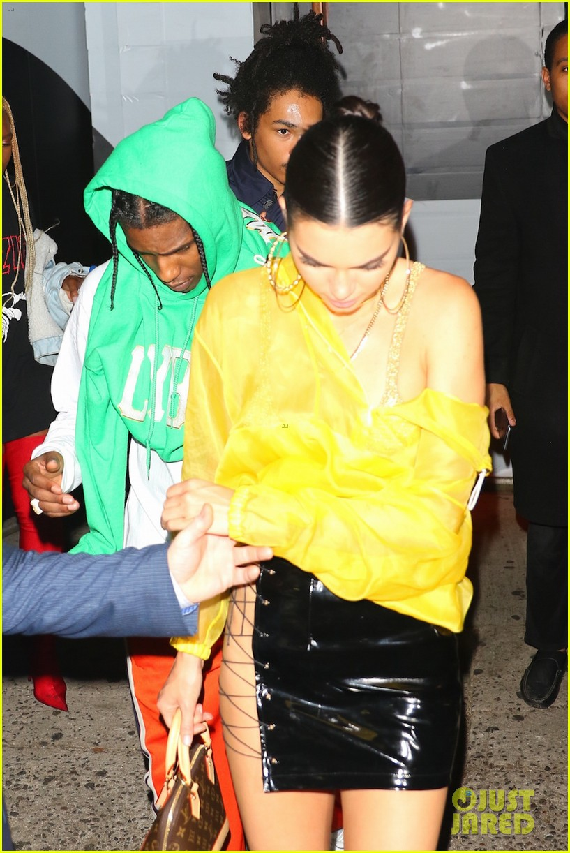 kendall jenner asap rocky met gala party 01