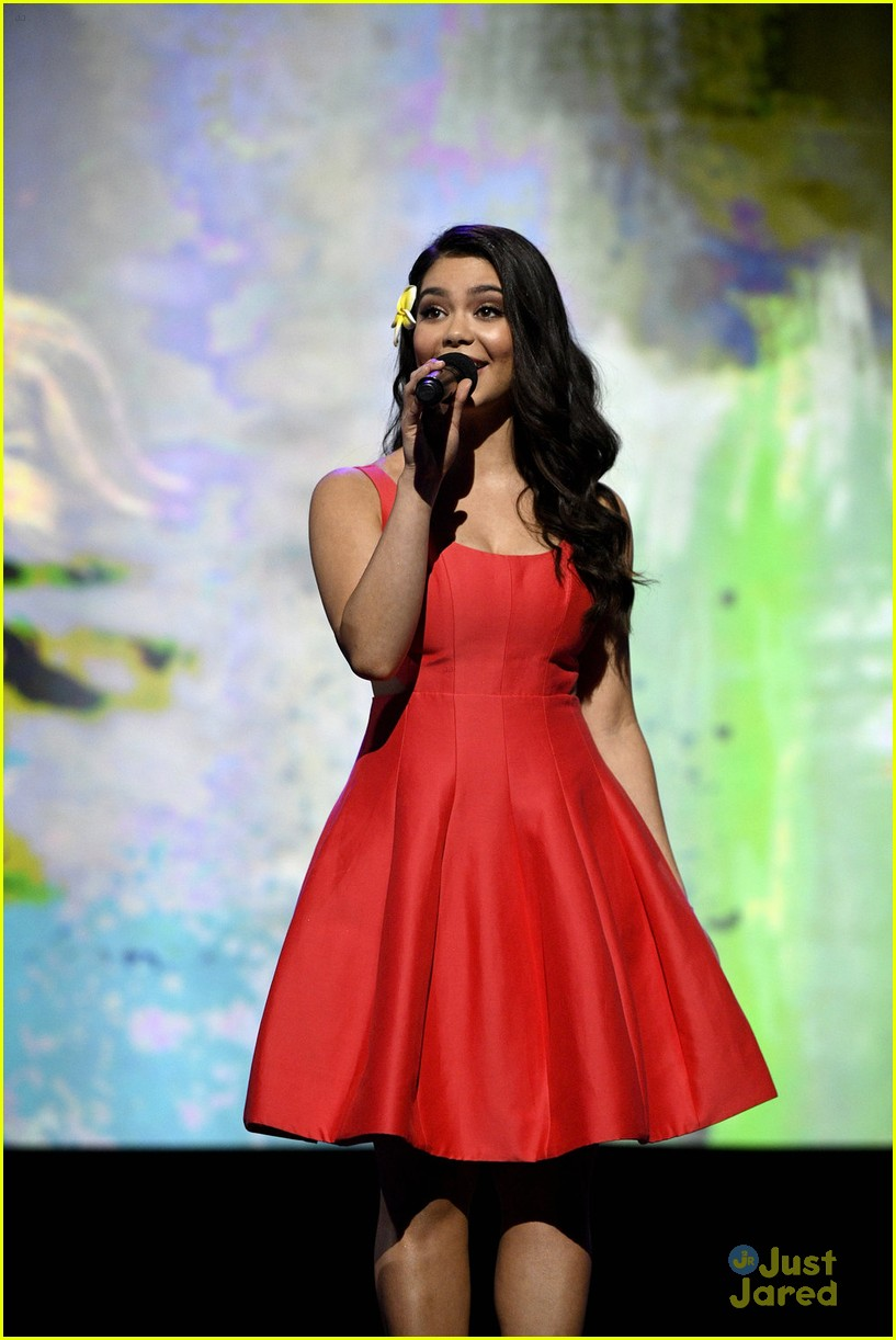 aulii cravalho disney princess wreck it ralph d23 expo 10