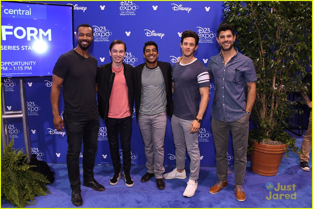 kyle harris hayden byerly d23 expo freeform guys 01
