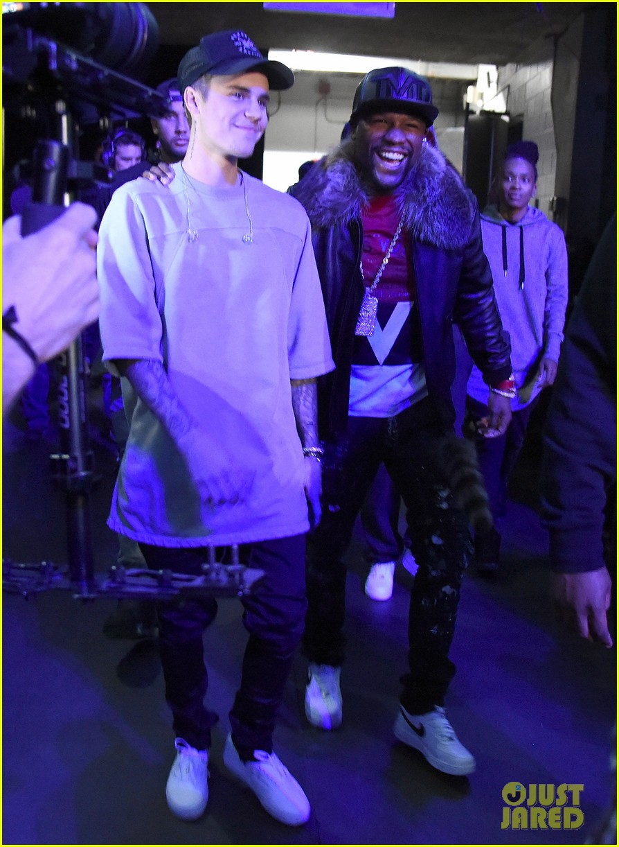 floyd mayweather justin bieber file photos 03