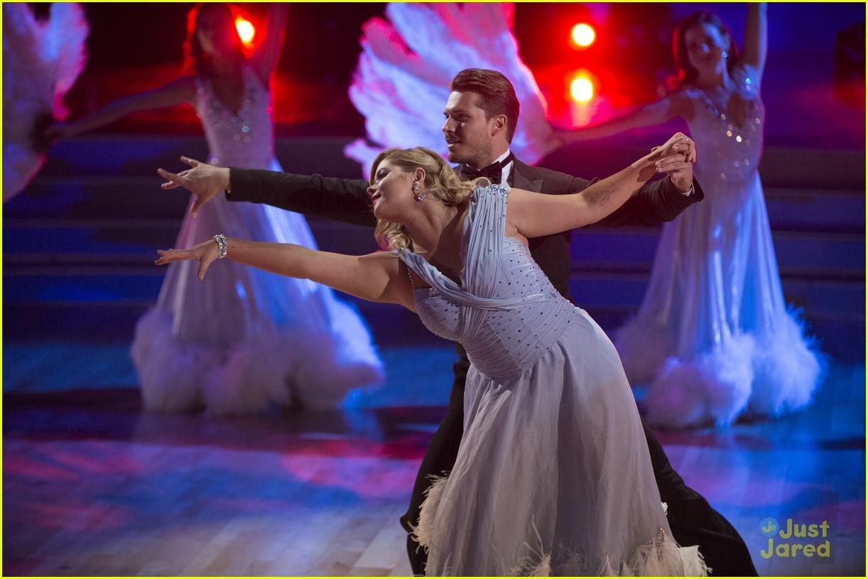 sasha pieterse shay mitchell dwts fix scores viennese waltz 06