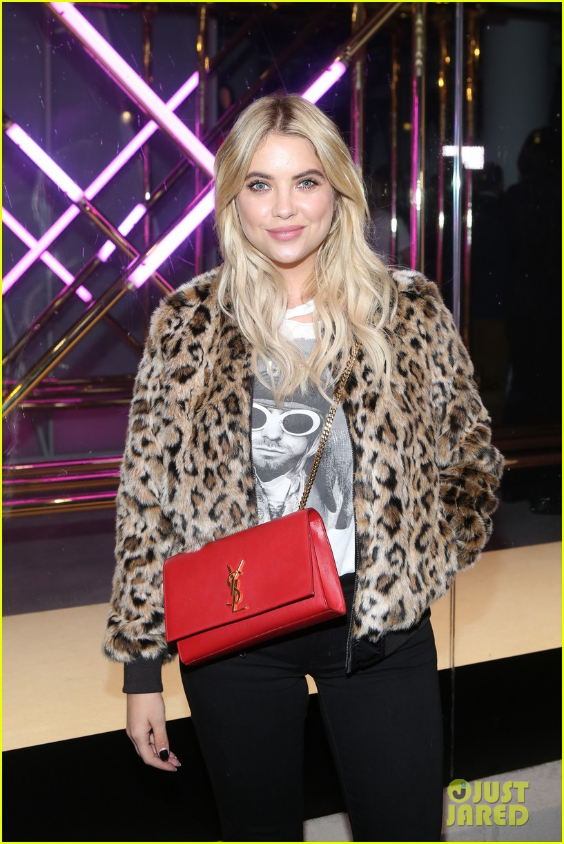 ashley benson billie lourd american eagle anniversary party 03