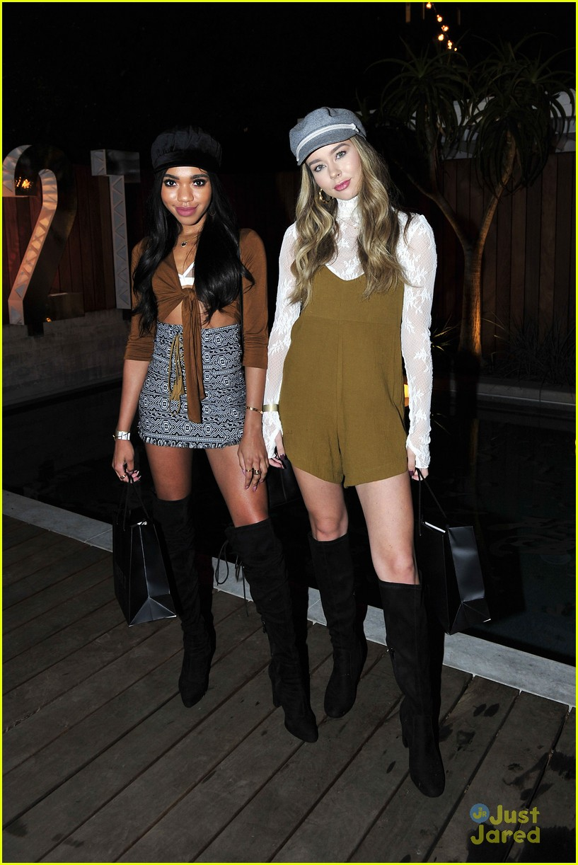 danielle campbell forever21 party r5 teala dunn more 01