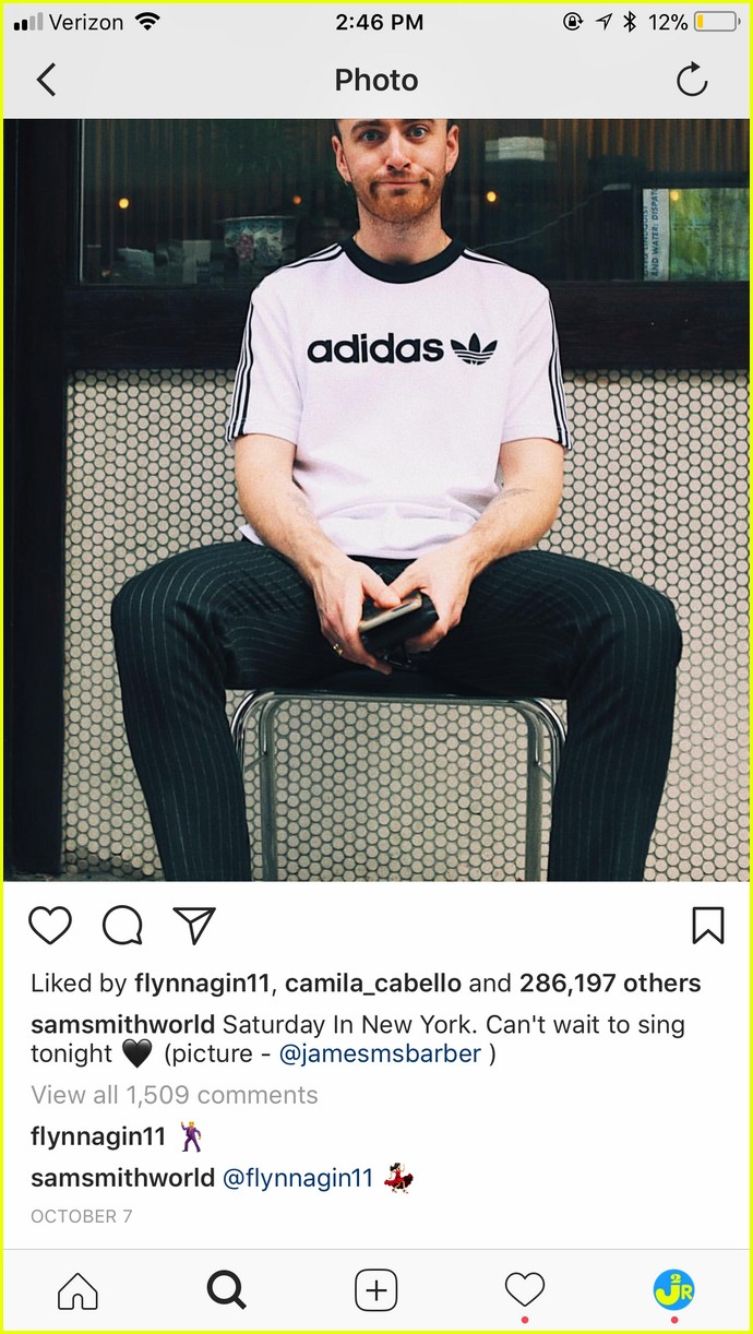 sam smith brandon flynn instagram comments to each other are the cutest 04
