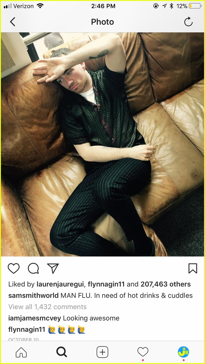 sam smith brandon flynn instagram comments to each other are the cutest 05