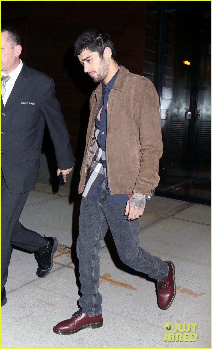 zayn malik steps out after two year anniversary 03