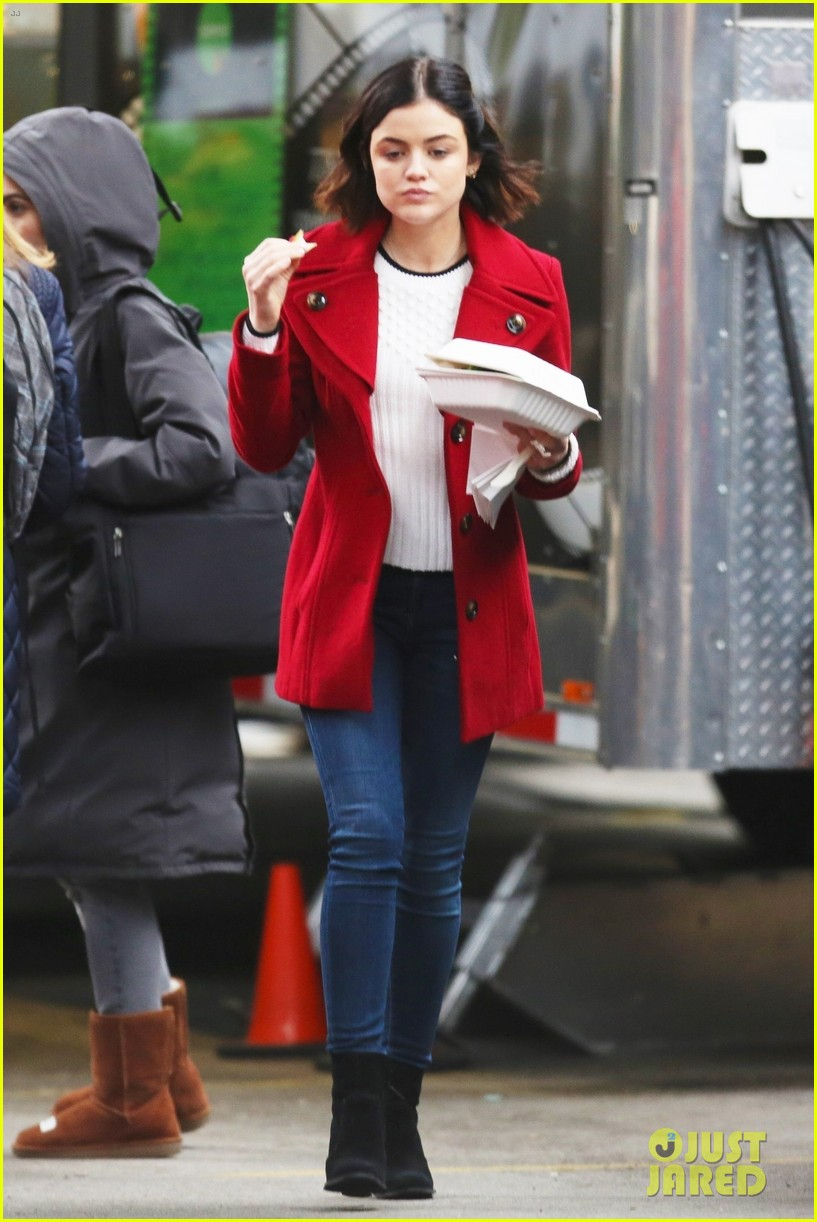 lucy hale elliot knight back to work life sentence 02